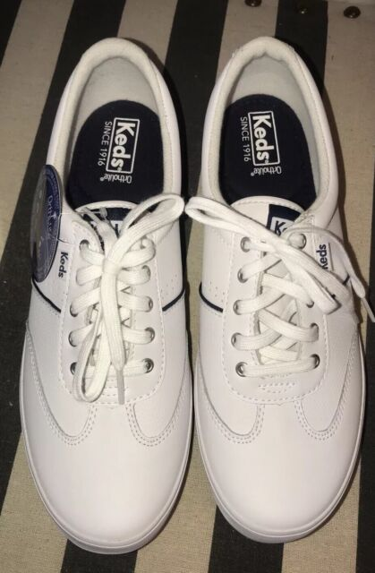 Keds Women White Leather Sneakers