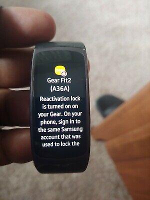 Samsung Galaxy Fit2 Activity Tracker SM-R220NZKAXAR in Black #Gift NIB