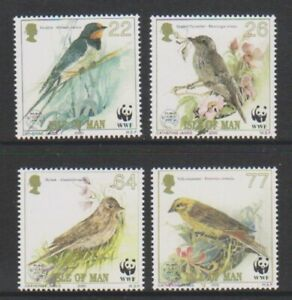 Isle-of-Man-2000-Endangered-Species-Song-voegel-set-MNH-SG-882-5