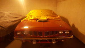 71 'Cuda 340 Numbers Matching Shaker Billboard