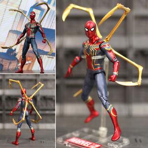 Spider-Man-Iron-Spider-Avengers-Infinity-War-Action-Figurine-Figure-16cm