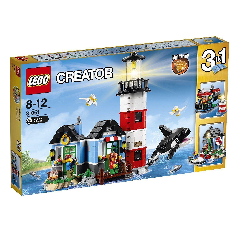Lego Creator 31051 - Leuchtturm Insel NEU OVP