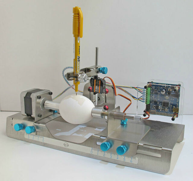 egg-bot 3D printer egg bot Easter Eggs egg painter  egg  carving helper