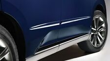 Lexus Oem Factory Body Side Molding Set 2012 2015 Rx350 Nebula Gray Pearl 1h9 Fits 2013 Lexus Rx350