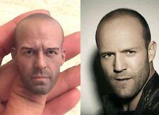 Custom Jason Statham 1/6 Head Sculpt for Hot Toys Muscular Body Headplay