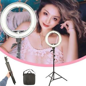 """Ring Light 14"""" Dimmable Selfie Makeup Youtube Tripod Video Live Camera Photo UK"""