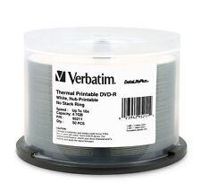 Verbatim DVD-R DataLifePlus White Thermal 16x 4.7GB 50-Pack Spindle
