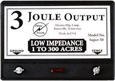 Fence Charger Super 50 3 Joule Free Lightning Diverter Amp 5jlt Lightning Fuse