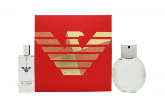 Emporio Armani Diamonds 2017 Gift Set 50ml Eau De Parfum 15ml Edp