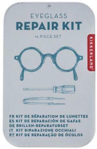 Eyeglass Repair 16 pc Kit For Sunglasses Eyeglasses Reading Glasses On The Go