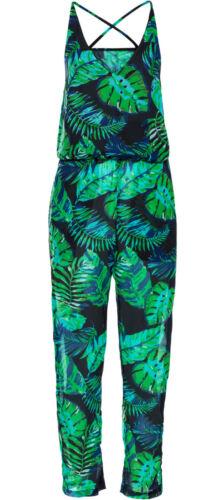 44 stampati spiaggia moda NUOVO 907429 Top Jumpsuit Overall tg