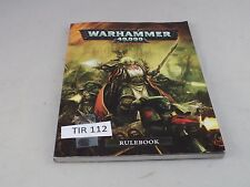 Warhammer 40k 6th edition Rulebook softback edition has wear on corner (TIR 112)