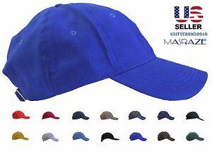 Masraze-New-Plain-Solid-Cotton-Baseball-Ball-Cap-Men-Women-Hat-Hats-Adjustable