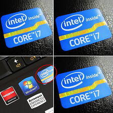 Intel Core i7 Inside Sticker Badge 2nd 3rd Generation DESKTOP LOGO 25mm x 18mm