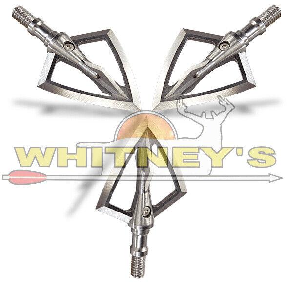 La leyenda de Caja de punta de de de caza Armería sólido de hoja fija 4 Broadhead 125 Gr 1 2 Purgador 1a3d6e