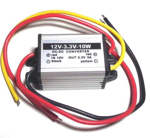 Impermeable Convertidor DC a DC Buck 12V a 3//3.3//3.7//5//6//9V Fuente De Alimentación Módulo