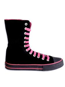 Samt Schwarz 18 Turnschuh England Pink Shoes Sneaker Underground 6wqIXvP