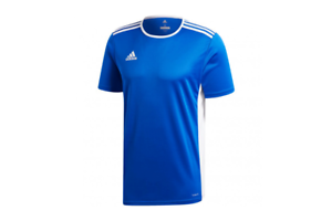 Details about adidas Entrada 18 Jersey Kids Blue Football Soccer Sport Youth T-Shirts CF1037