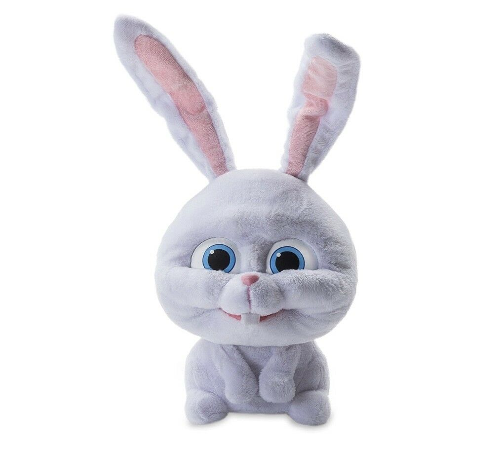 The Secret Life Life Life of Pets - Cute & Crazy Snowball - Interactive Talking Plush Toy abacf9