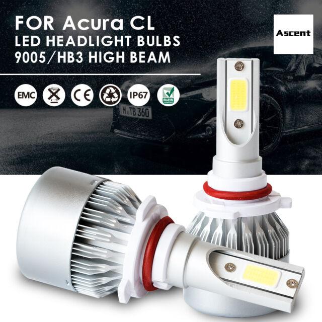 Front 9005 HB3 LED Headlight Conversion Kit Beam Bulbs For
