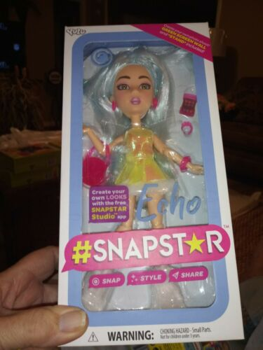 NEW UNOPENED SNAPSTAR ECHO Doll Free Studio App with Purse Phone