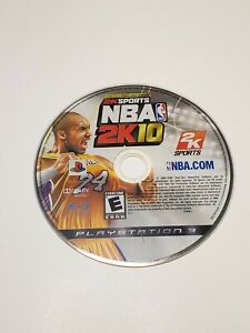 NBA 2K10 (Sony PlayStation 3, 2009) PS3 - DISC ONLY