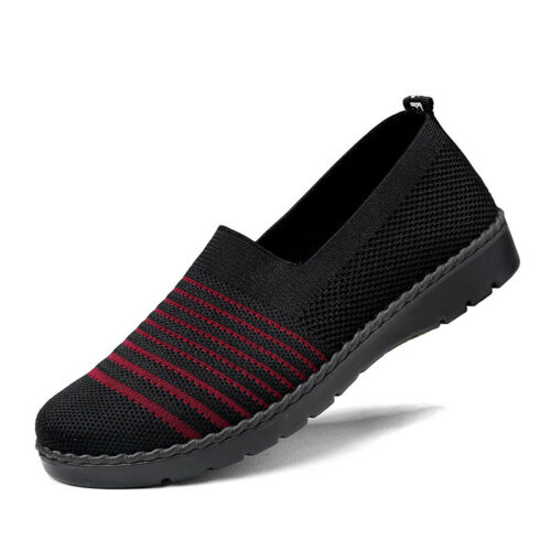 Women Casual Shoes Breathable Mesh Walking Soft Sole Athletic Gym Shoes Running