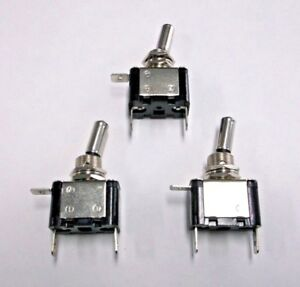 4 BBT 2 Position On//On 12 volt 6 Terminal Toggle Switches 20 amp