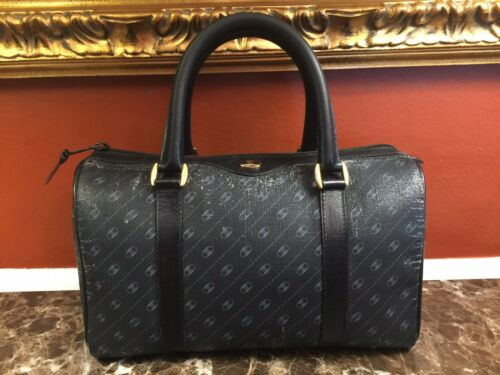 VINTAGE GUCCI ACCESSORY COLLECTION GG MONOGRAM CAN