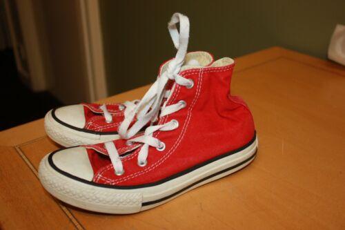 Blanc rayures rouges d'usure Charge 5 5 avec BasketsTaille gauche à Mens Converse cJlK1TF