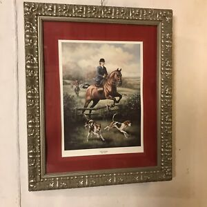 Print-Framed-034-Lady-s-Pursuit-Signed-Judah-Gibson28-034-x34-034-C11pix4details-MAKE-OFFER