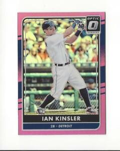 Details About 2016 Donruss Optic Baseball Pink Refractor Singles You Choose