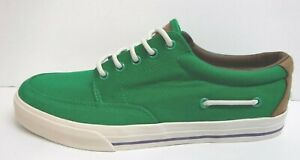 Polo by Ralph Lauren Size 7 Green Sneakers New Mens Shoes