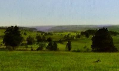 1924,View of Otselic Valley and Cincinnatus,New York, Magic Lantern Glass Slide