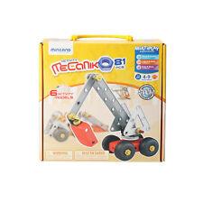 Miniland Mecaniko Construction Set 74-Piece Miniland Educational 32651