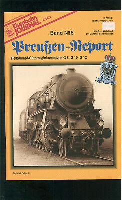 Preußen-report Heißdampf-güterzuglokomotiven G 8, G 10, G 12