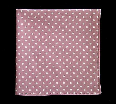 3 x Mens Black Navy /& Sky Blue Pin Dot Handkerchief Pocket Square Hankies