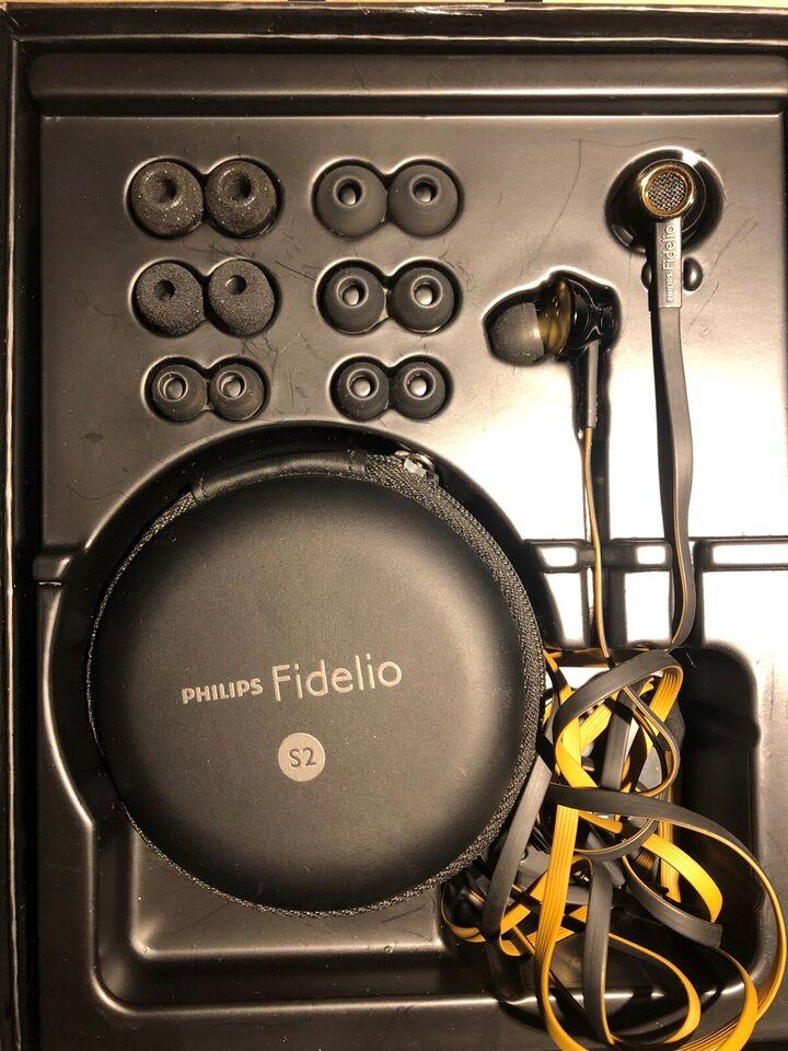in-ear hovedtelefoner, Philips, Fidelio