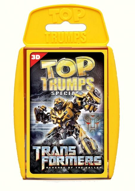 Top Trumps - Transformers Revenge of the Fallen (3D)