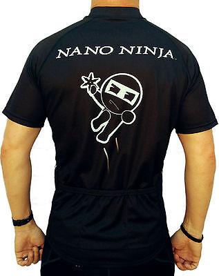 WHITE NANO NINJA SKULL SLEEVELESS CYCLING JERSEY