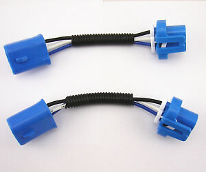 s l300 2 x 9004 9007 extension wiring harness socket male female for  at bakdesigns.co
