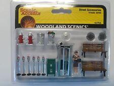 Woodlend Scenics   O Street Accessories  WOO2764