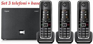 Siemens-Gigaset-C530IP-C530HX-3-Telefoni-VoIP-DECT-PSTN-IP