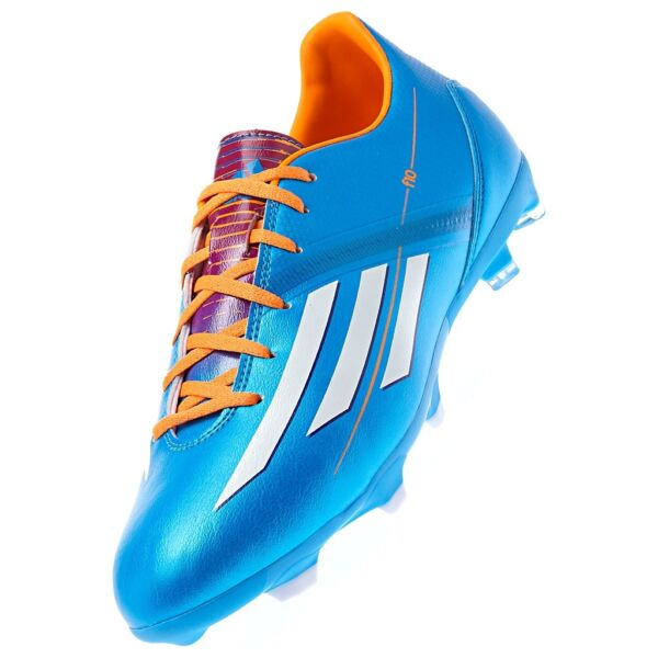 5a88987fa ADIDAS F10 FG FIRM GROUND SOCCER SHOES Solar Blue