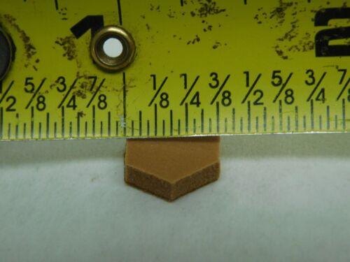 """BROWN FOAM STICK-ON CABINET DOOR BUMPERS 200+ 3//8/"""" DIAMETER 1//8/"""" THICKNESS LD"""