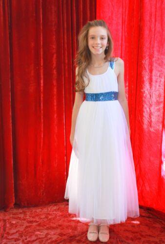 Wedding Flower Girl Dress Toddler Tulle Dress Pageant Dress Graduation Dresses