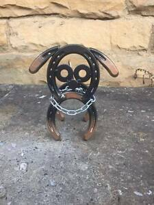 Horseshoe Dog, Garden Decor, Yard Art, Horseshoe Art ...