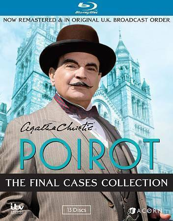 Agatha Christies Poirot The Final Cases Collection Blu Ray Disc 2014 13 Disc Set For Sale Online Ebay