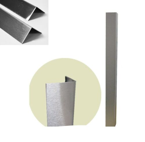 STAINLESS STEEL CORNER PROTECTOR PROTECTION CORNER PLATE ANGLE PLATE SATIN