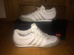 Details zu original Y 3 Yohji Yamamoto Boxing Sneaker Schuhe 45 13 UK 10 12 Adidas silber